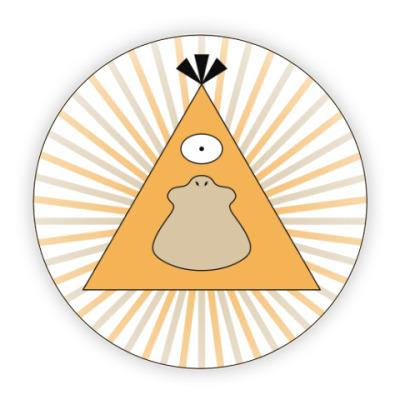 Костер (подставка под кружку) Покемон-масон Псайдак