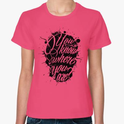 Женская футболка Guns N'Roses