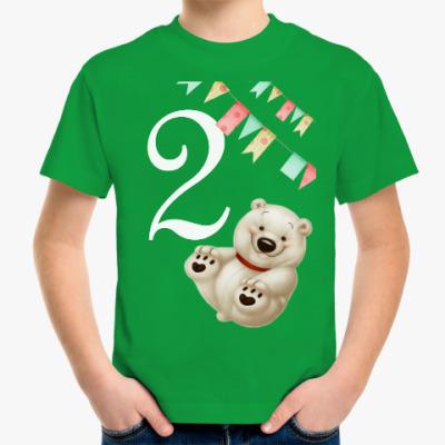 Детская футболка Мне 2 годика