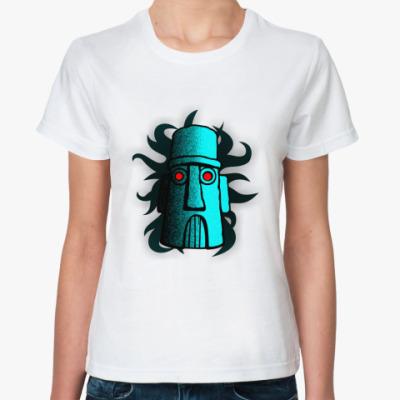 Классическая футболка дом сквида