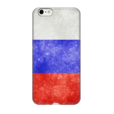 Чехол для iPhone 6/6s Флаг России