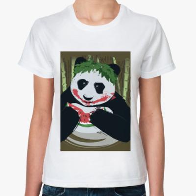 Классическая футболка Панда Joker