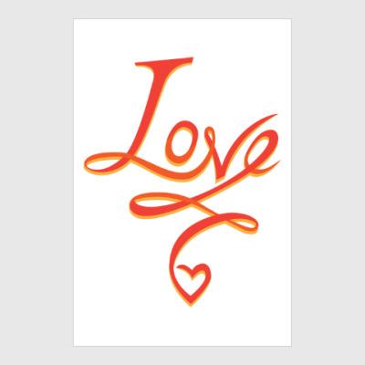 Постер LOVE