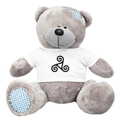 Плюшевый мишка Тедди Кельтский символ