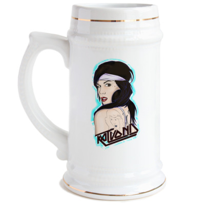 Пивная кружка Кэт
