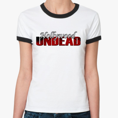 Женская футболка Ringer-T Hollywood Undead