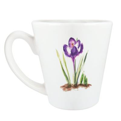 Чашка Латте Крокус