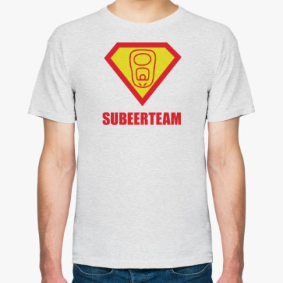 Футболка  SubeerTeam Супермен Пиво