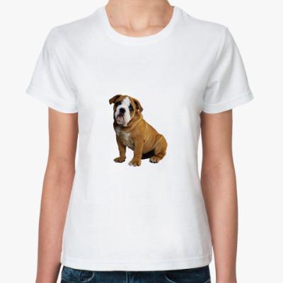 Классическая футболка  'Бульдожка'