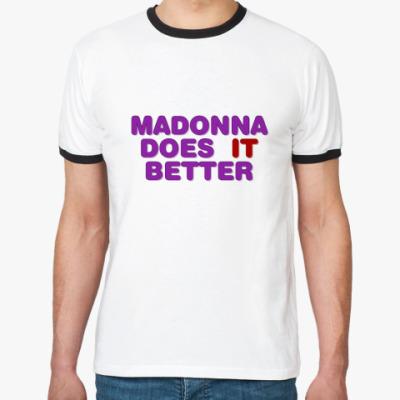 Футболка Ringer-T Madonna