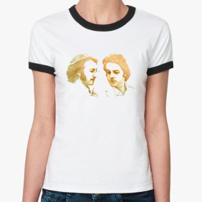 Женская футболка Ringer-T Paul & John