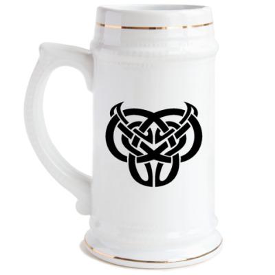 Пивная кружка Кельтский сим.