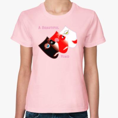Женская футболка Игры разума