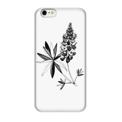 Чехол для iPhone 6/6s Люпин необыкновенный