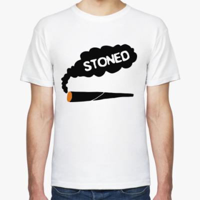 Футболка stoned