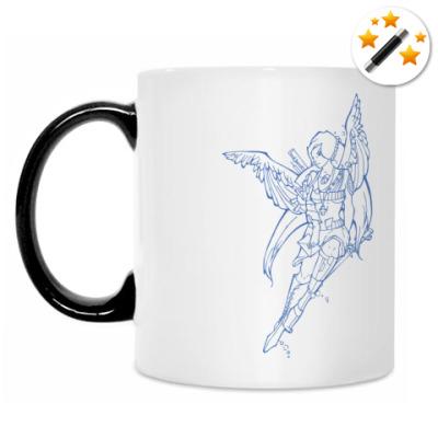 Кружка-хамелеон Ангел