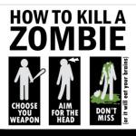 Зомби.how to kill a zombie