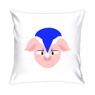 Подушка Новогодняя свинья