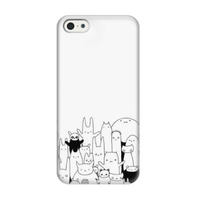 Чехол для iPhone 5/5s Няшки