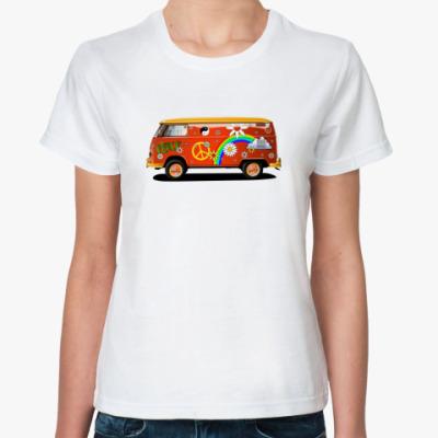 Классическая футболка  Хиппи