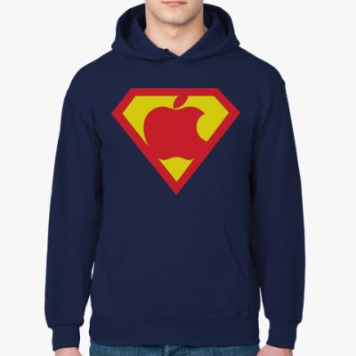 Толстовка худи Super Apple