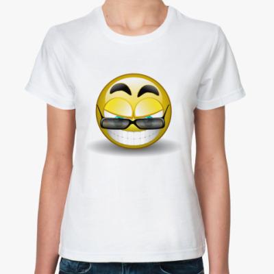 Классическая футболка Смайл