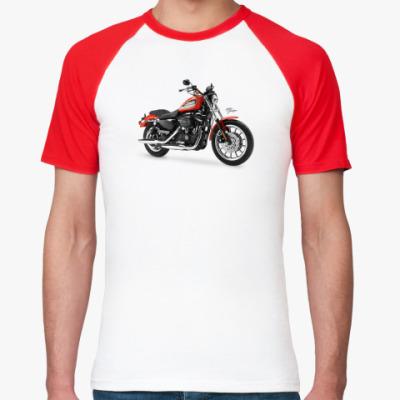 Футболка реглан Harley-Davidson