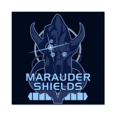 Наклейка (стикер) Mass Effect: Марадер Шилдс