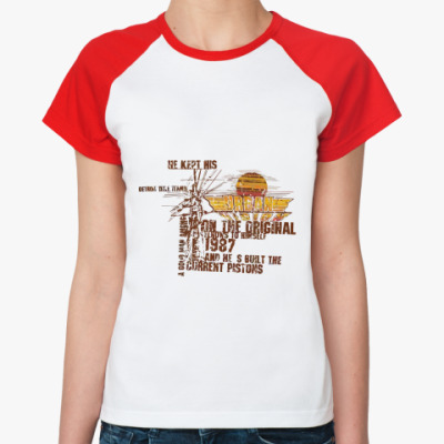 Женская футболка реглан Urban Style