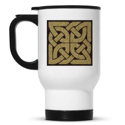 Кружка-термос Кельтский сим.