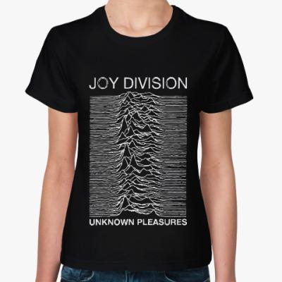 Женская футболка Joy division unknown pleasures