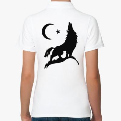 Женская рубашка поло Кавказ