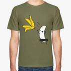 Классическая футболка Банан стриптизер