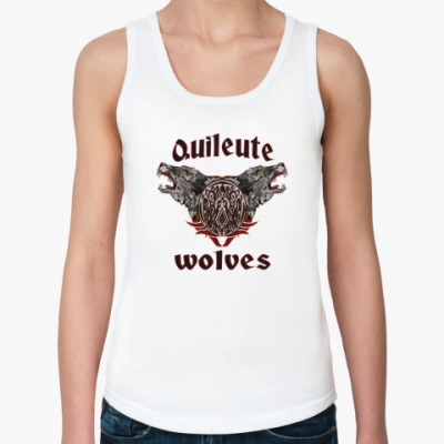 Женская майка Quileute wolves