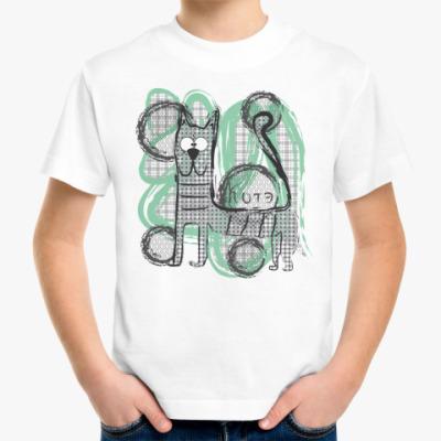 Детская футболка Котэ