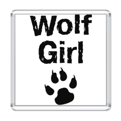 Магнит  Wolf girl