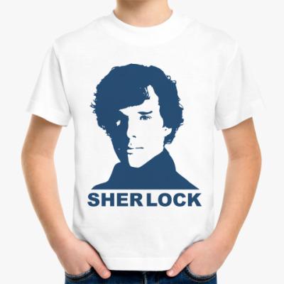 Детская футболка Sherlock