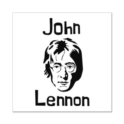 Наклейка (стикер) Джон Леннон