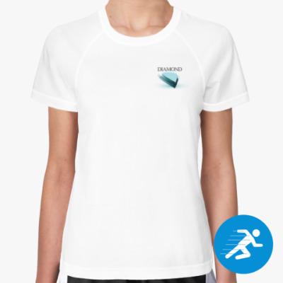 Женская спортивная футболка Diamond Soul