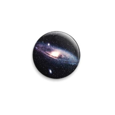Значок 25мм Галактика