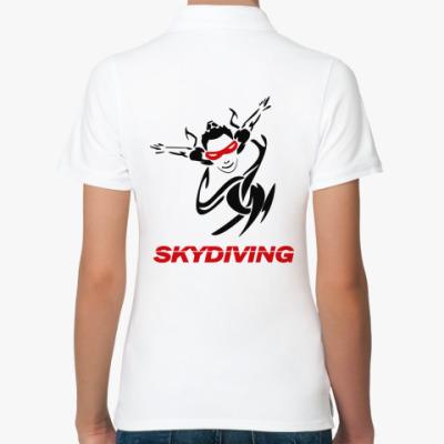 Женская рубашка поло SKYDIVING