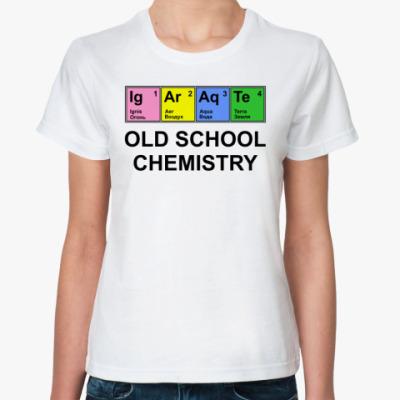 Классическая футболка Old school chemistry