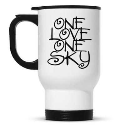 Кружка-термос ONE love