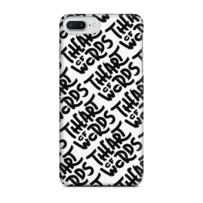 Чехол для iPhone 7 Plus The Art of Words