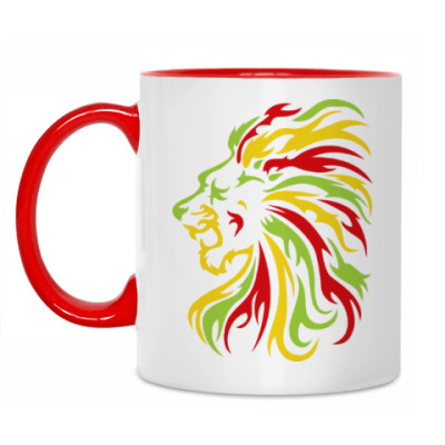 Кружка Красочный лев