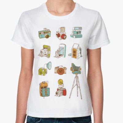 Классическая футболка Фотоапараты