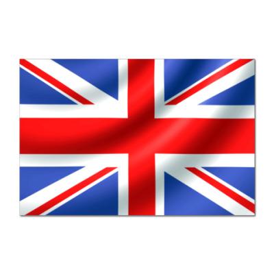 Наклейка (стикер)  British Flag