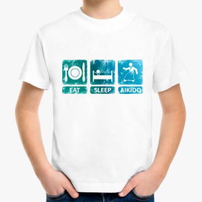 Детская футболка Айкидо!