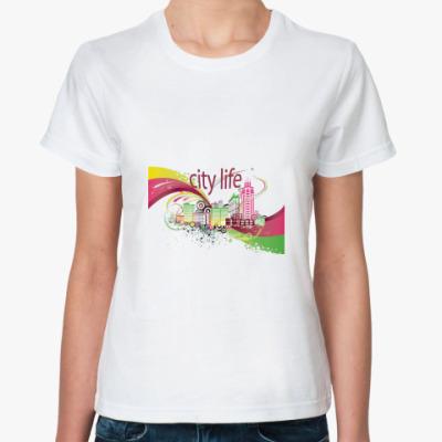 Классическая футболка city