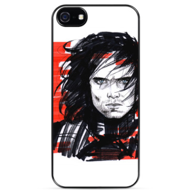 Чехол для iPhone Winter Soldier (Bucky Barnes)